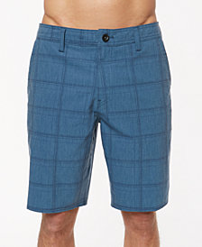 "O'Neill Men's Hyperfreak Plaid 20"" Hybrid Shorts"