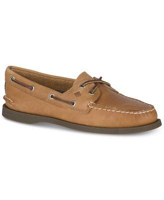 Sperry Top-Sider Women's Authentic Original 2-Eye Boat Shoe,Sahara,5.5 W US