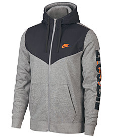 Nike Men's Sportswear Just Do It Fleece Zip Hoodie