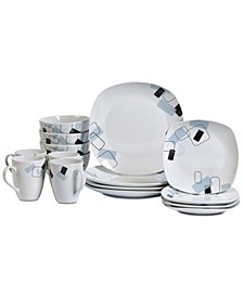 Dean 16-Pc. Dinnerware Set, Service for 4