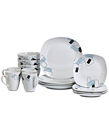 CLOSEOUT! Tabletops Unlimited Dean 16-Pc. Dinnerware Set, Service for 4