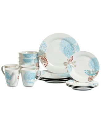 Tabletops Unlimited Emma 16-Pc. Dinnerware Set Service for 4  sc 1 st  Macy\u0027s & Tabletops Unlimited Emma 16-Pc. Dinnerware Set Service for 4 ...