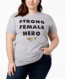 Hybrid Plus Size Wonder Woman T-Shirt