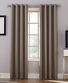 "Sun Zero Oslo 52"" x 63"" Theater Grade 100% Blackout Grommet Curtain Panel"