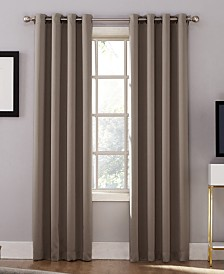 Sun Zero Oslo Grommet Theater Grade 100% Blackout Curtain Panels