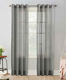 "Lichtenberg No. 918 Sheer Voile 59"" x 95"" Grommet Curtain Panel"