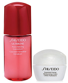 Receive a free 2 pc gift with $150 Shiseido purchase!