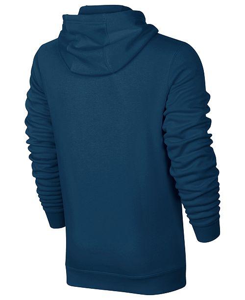 5180a14aefc6 Nike Men s Half-Zip Hoodie   Reviews - Hoodies   Sweatshirts - Men ...