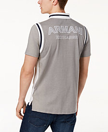 A|X Armani Exchange Men's Slim Fit Colorblocked Polo
