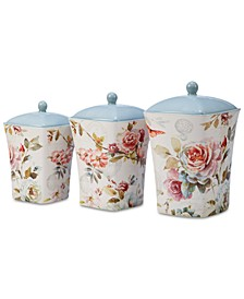 Beautiful Romance Canisters, Set of 3