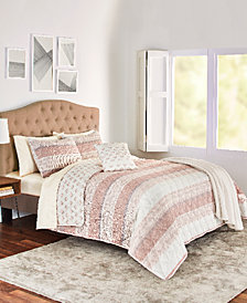 Kent 4-Pc. Reversible Twin Quilt Set