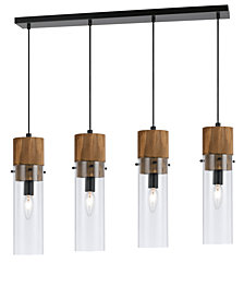 Cal Lighting 4-Light Spheroid Island Pendant