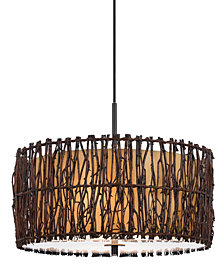 Cal Lighting 2-Light Twig Pendant