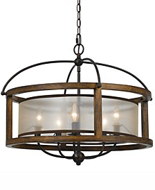 5-Light Round Chandelier