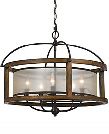 Cal Lighting 5-Light Round Chandelier
