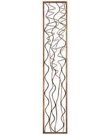 Scribble Aged Gold-Finish Wall Art Panel