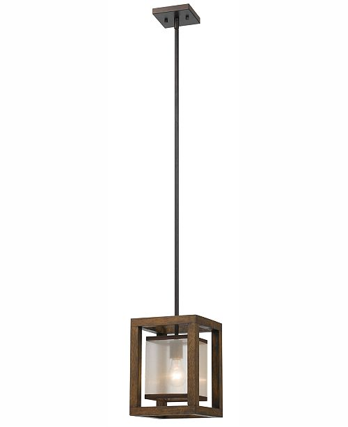 Cal Lighting Single Mini Pendant