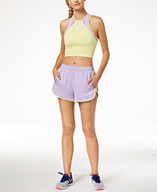 Puma Cropped Mesh Tank Top & Shorts