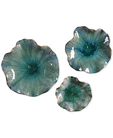 Uttermost Abella 3-Pc. Ceramic Flower Set