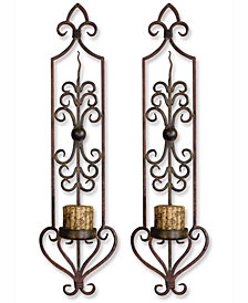Uttermost Privas 2-Pc. Metal Wall Sconce Set