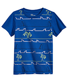 Epic Threads Toddler Boys Palm Striped T-Shirt, Created for Macy's
