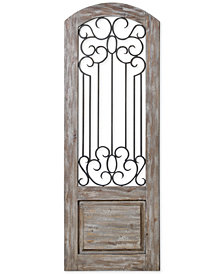 Uttermost Mulino Distressed Panel Wall Art