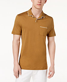 Michael Kors Men's Piped Fine Pima Cotton Polo