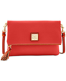 Dooney & Bourke Foldover Zip Small Crossbody