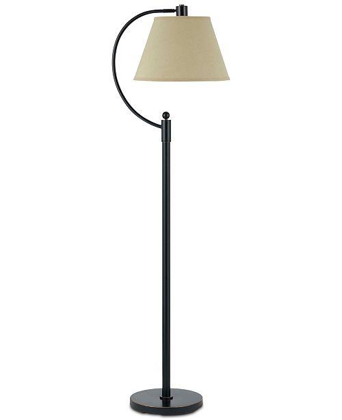 Cal Lighting 100W Kinder Metal Arc Floor Lamp