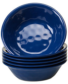 Certified International 6-Pc. Cobalt Blue Melamine All-Purpose Bowl Set
