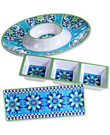 Certified International Granada 3-Pc. Hostess Set
