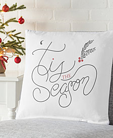 "Cathy's Concepts Tis the Season 16"" Square Decorative Pillow"