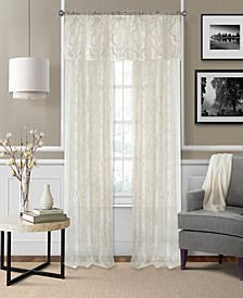 Montego Sheer Burnout Window Treatment Collection