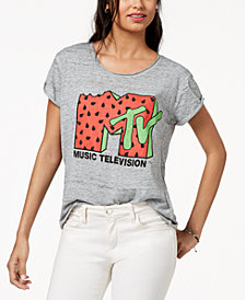 Freeze 24-7 Juniors' MTV Graphic-Print T-Shirt
