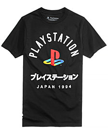 New World Men's Playstation Print T-Shirt