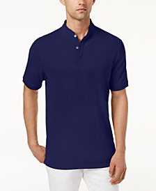 Tasso Elba Men's Supima® Cotton Banded Polo, Created for Macy's
