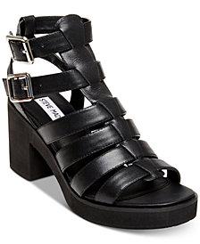 Steve Madden Women's Clue Platform Gladiator Sandals