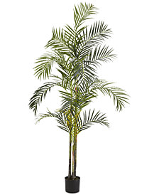 Nearly Natural 7' Artificial Areca Palm Silk Tree