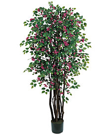 Nearly Natural 6' Artificial Bougainvillea Tree