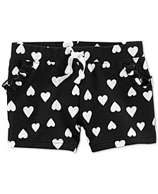 Carter's Toddler Girls Heart-Print Cotton Shorts