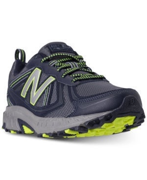 01a5db873f4b New Balance Men s Mt410 V5 Running Sneakers From Finish Line In Pigment Hi- Lite