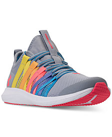 Under Armour Little Girls' GPS Infinity Running Sneakers from Finish Line