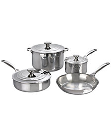 Le Creuset Stainless Steel 7-Pc. Cookware Set