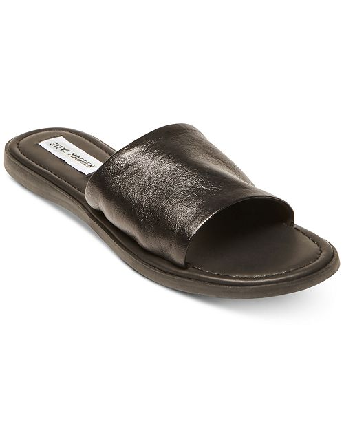 64a30a2ac359 Steve Madden Women s Camilla Banded Slide Sandals   Reviews ...