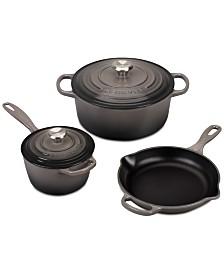 Le Creuset 5-Pc. Cast Iron Cookware Set