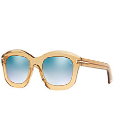 Tom Ford Sunglasses, FT0582 JULIA 02 50