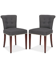 Valen Dining Chair (Set Of 2), Quick Ship