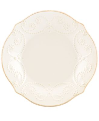 Dinnerware, French Perle Tidbit Plate