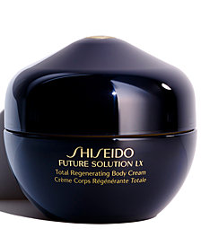 Shiseido Future Solution LX Total Regenerating Body Cream, 6.7 oz