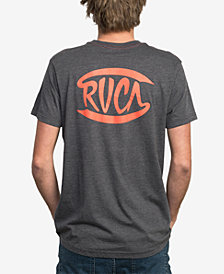 RVCA Men's Clutch Script T-Shirt